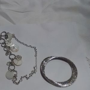 Necklace and bracelet